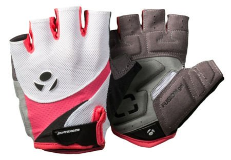 Bontrager cycling gloves for women Solstice S White / sorbet