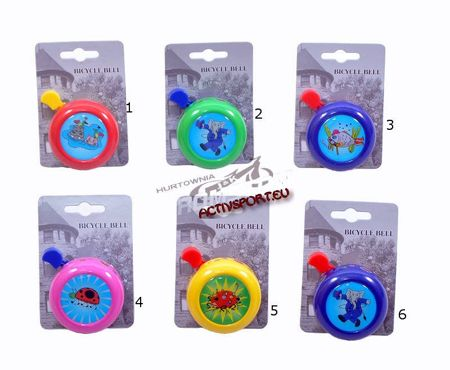 SWEETY children's bicycle bell MIX