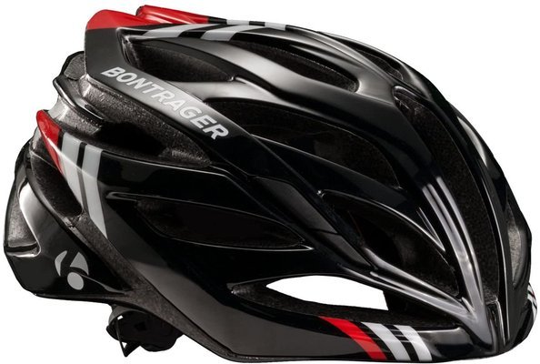 Bontrager bicycle helmet Circuit L black/white/red large CE