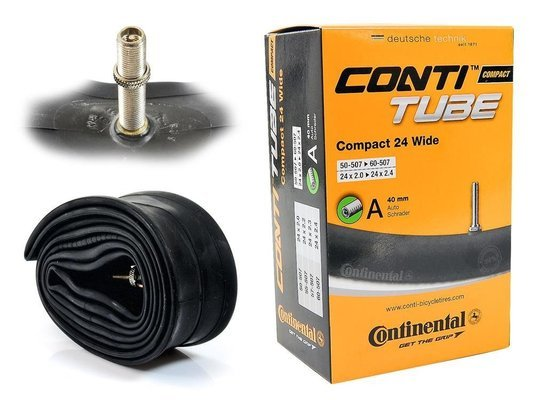 Dętka Continental Compact 24 WIDE Auto 40mm 50-507/60-507