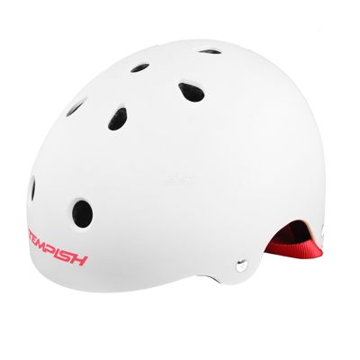Kask Jumper 018 white-grey  S/M (54-57cm)