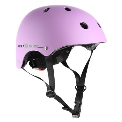 Kask NILS Extreme MTV12 Fioletowy matowy M 54-58cm