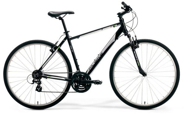 M-BIKE CROSS 10-V  M/L(52) black/silver/green rower