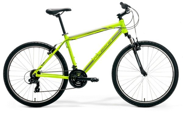 "M-BIKE MID 26 5-V XS(14"") neon green/grey/black rower"