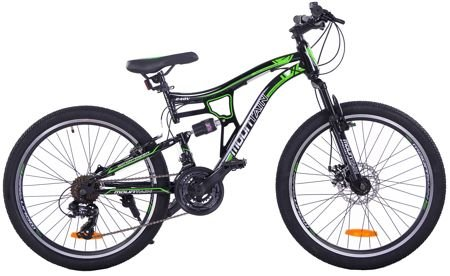 "MOUNTAIN FULL 24"" 1XT FD/RV black/green"