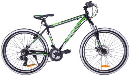 "MOUNTAIN TEAM RIDER 26"" LION alum.black/green"