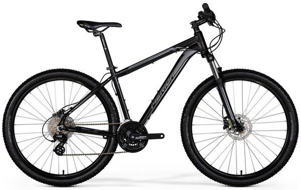 "Merida BIG.SEVEN 15-D XS (13,5"") Mat dark silver"