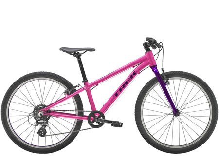 Trek Wahoo 24  Flamingo Pink/Purple Lotus rower