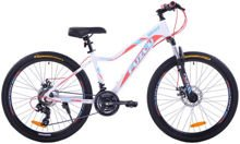 "MOUNTAIN FULL 24"" 2XT FD/RD black/red"