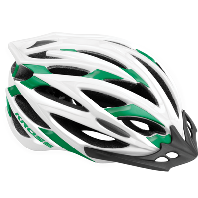 Kask Brizo GREEN/WHITE L