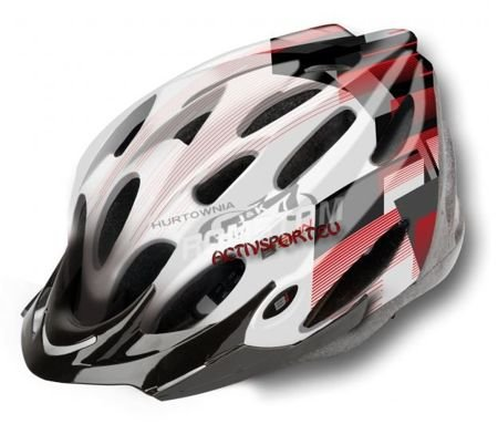 Kask Regular white/black Visor black L 58-60cm