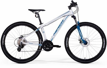 "Merida BIG SEVEN 15-MD 21,5"" Pearl White (Dark Blue ) 2017"