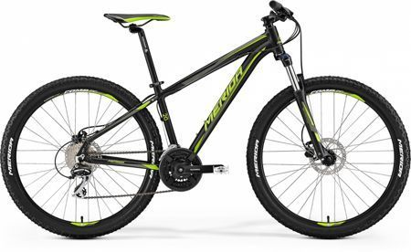 "Merida BIG SEVEN 20-D 18,5"" Matt Black ( Green ) 2017"
