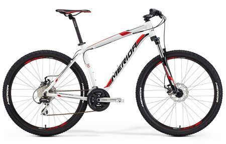 "Merida BIG SEVEN 20-MD 17"" white (black/red)"
