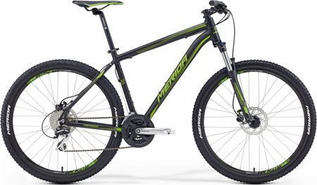 "Merida Big Seven 20-D 20""  BLACK- GREEN"