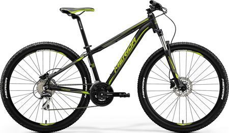 "Merida Big.Seven 20-D  S(15"") BLACK-GREEN 2018"