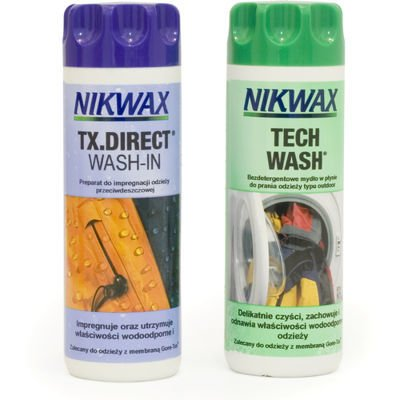 Zestaw Nikwax Tech Wash + Tx.Direct Wash-In 300ml
